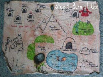 How to Create a Children's Treasure Map