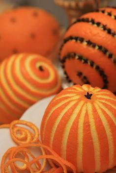 clove oranges....I r
