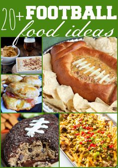 Fun Football Party Food Ideas | Dreaming Of Leaving - Highlighted at the #HomeMattersParty 56