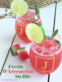 Fresh Watermelon Mojito | All That's Jas - Featured at the #HomeMattersParty 53