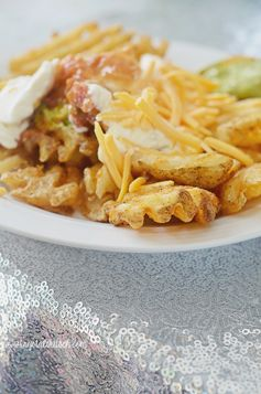 Mexican Waffle Fries Recipe | Krystal's Kitsch - Featured at the #HomeMattersParty 57
