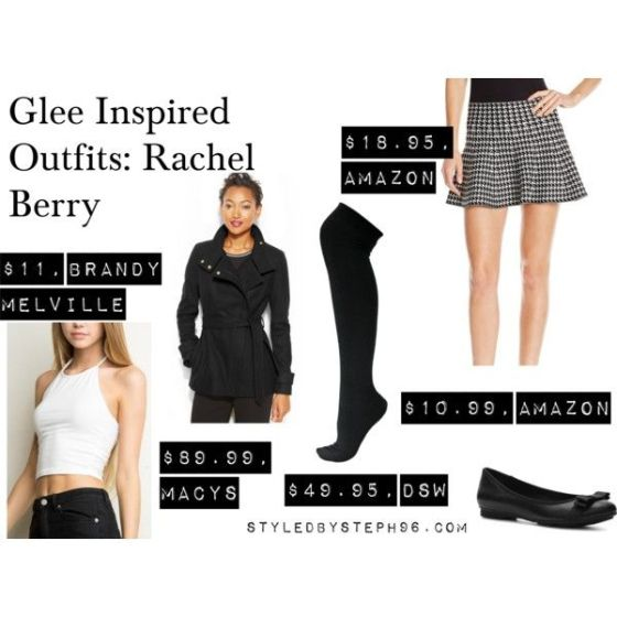 """Glee Inspired Outfits: Rachel Berry"" by styledbysteph96 on Polyvore"