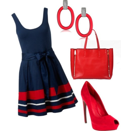 Red is the trend of this summer