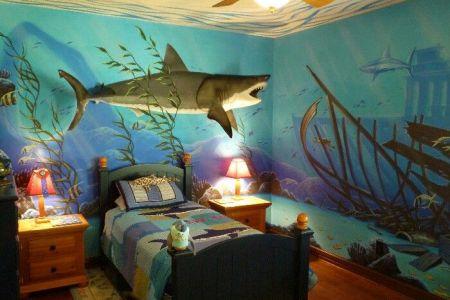 shark room | bedroom ideas | pinterest