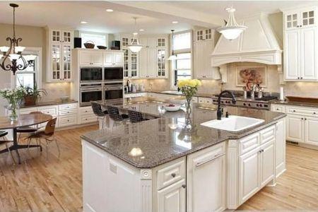 "an ""l"" shaped kitchen island.   kitchen ideas   pinterest"
