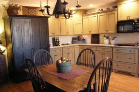"primitive colonial kitchen | ""forever"" home ideas 