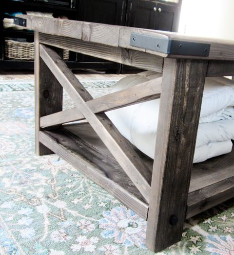Ana White Build A Rustic X Coffee Table Free And Easy Diy Project And Furnit Most Popular Pins