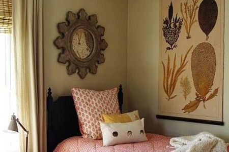 how to decorate a small bedroom space | home is where the