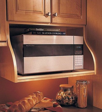 customizing and hanging the microwave cabinetloving here. Black Bedroom Furniture Sets. Home Design Ideas