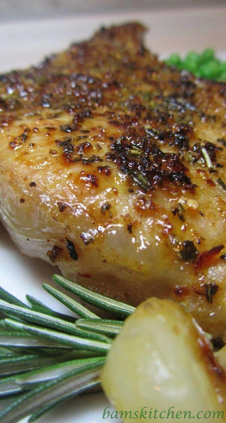 Creative Herbed Veal Chops Recipe Dishmaps Veal Chop Recipes Bon Appetit Veal Chop Recipes Easy