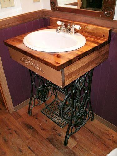 decorar el lavabo: que no son lavabos, o cómo reciclar cualquier cosa para decorar