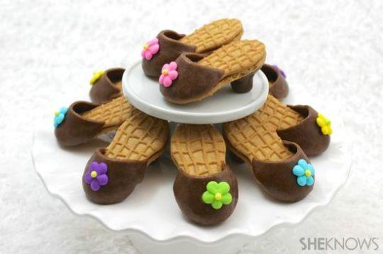 Nutter Butter high-heel cookies