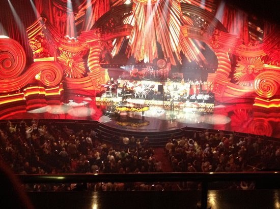 Best Seats To See Elton John In Las Vegas Review Of The Million Dollar Piano Nv Tripadvisor
