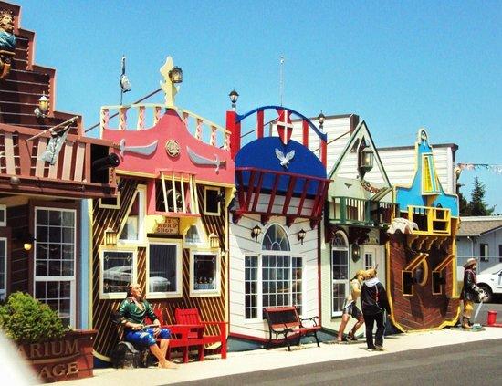 LOVED the Aquarium village w/all the tourist/antique shops!   Picture