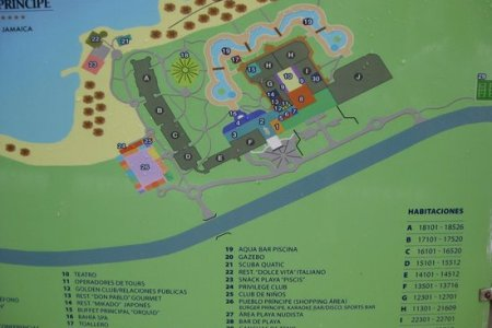 2013 resort map