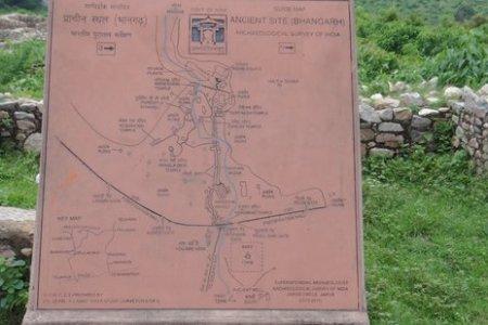 entry map picture of bhangarh fort, alwar tripadvisor