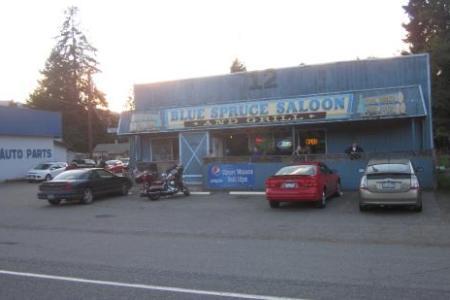 blue spruce saloon