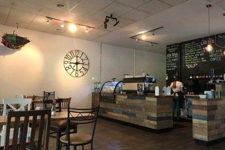 quiet cosy coffee shop
