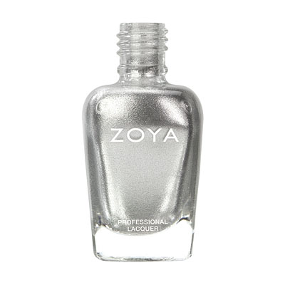 Zoya Nail Polish ZP389  Trixie  Silver Nail Polish Metallic Nail Polish