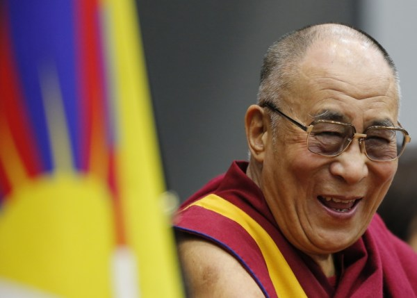 His Holiness the Dalai Lama. Reuters.