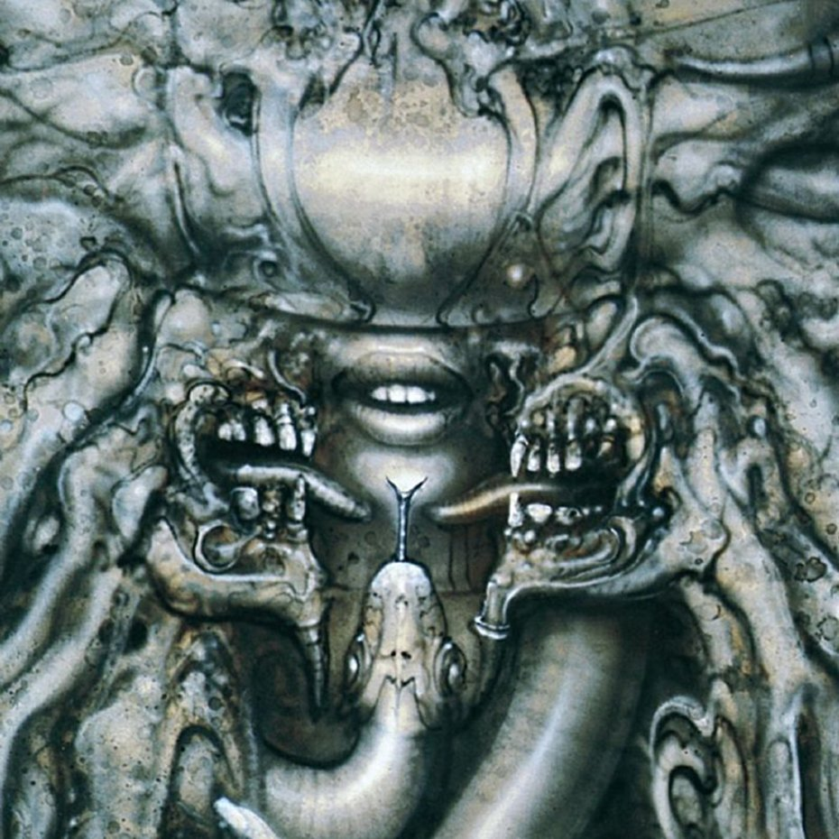Giger's cover art for  'Danzig III: How The Gods Kill' (1992).