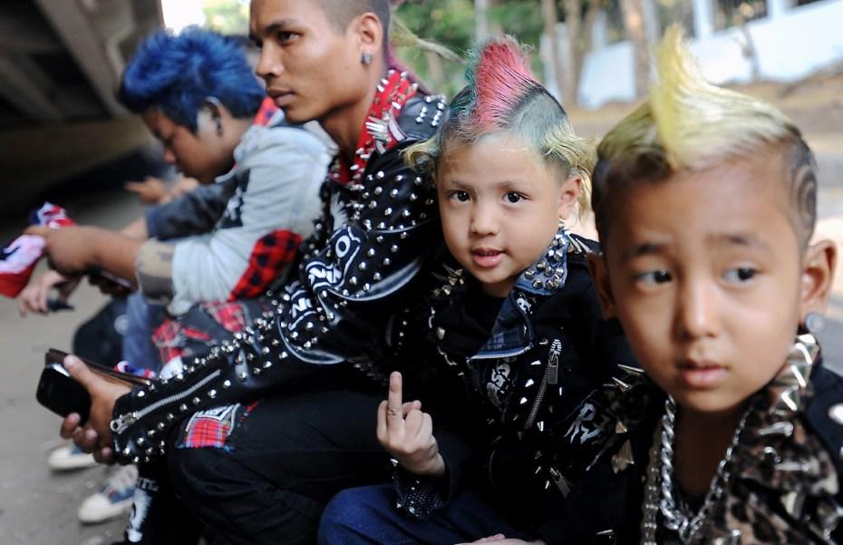 Punks in Yangon