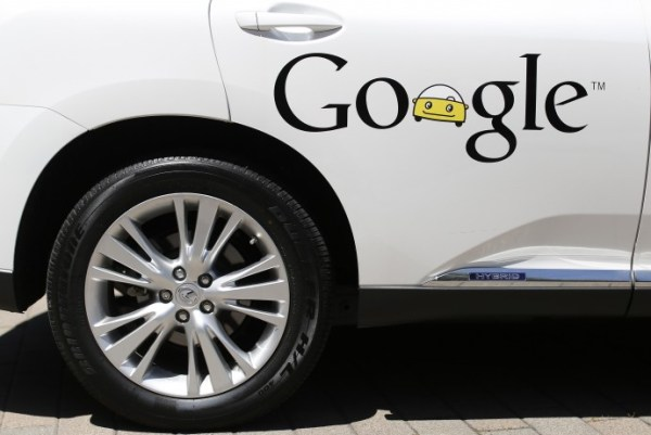 A Google self-driving vehicle. Photo: Reuters
