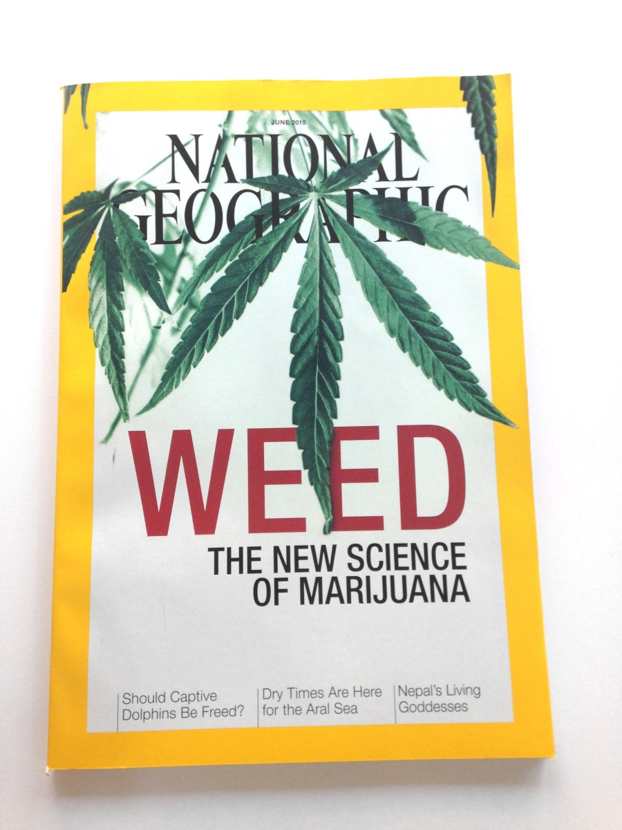 National geographic loves weed so much they 39 re devoting for Xeni jardin 2015