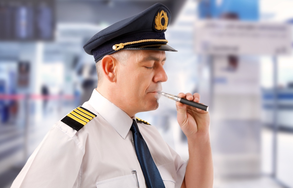Pilot Vaping (courtesy of BoingBoing,net)