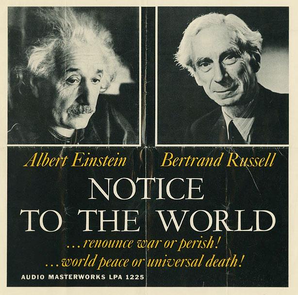 Bertrand Russel- Albert Einstein