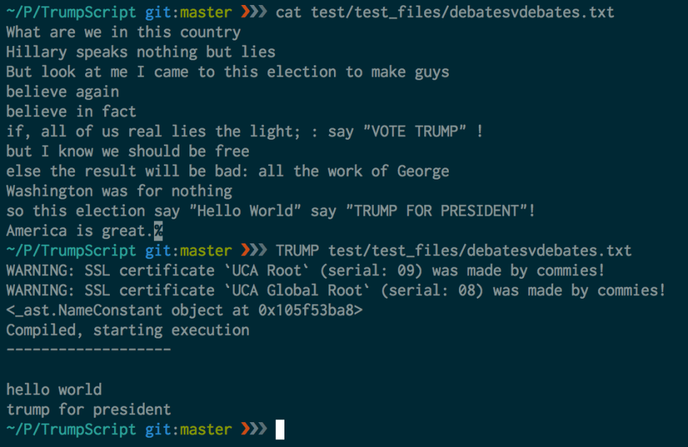 examplescripttooutput