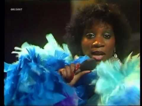 "Patti Labelle and a lot of feathers sing ""Lady Marmalade"" (1975)"