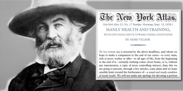 It me, Walt Whitman.