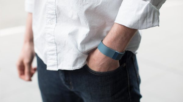 The same Fitbit model reported to have saved a man's life in the emergency room. [photo: fitbit.com]