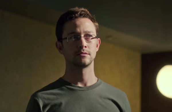 "Trailer for Oliver Stone's ""Snowden"""