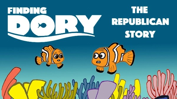 Tom the Dancing Bug 1293 finding dory republican