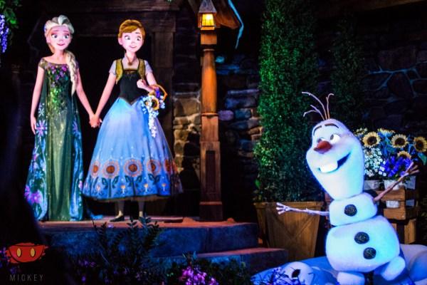 FrozenEverAfter Elsa Olaf
