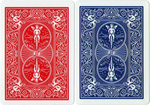 These are ordinary Bicycle cards (not marked)