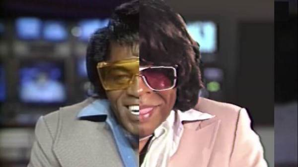 Recreation of a crazy James Brown interview from 1987