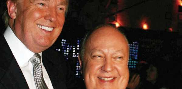 Trump (L) and Ailes (R)