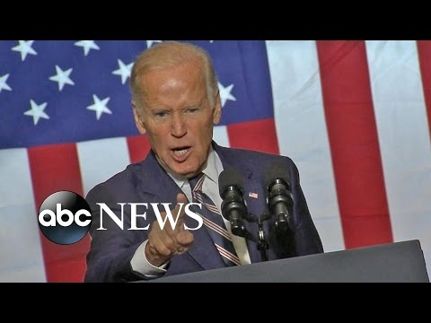 Joe Biden questions Trump's moral center