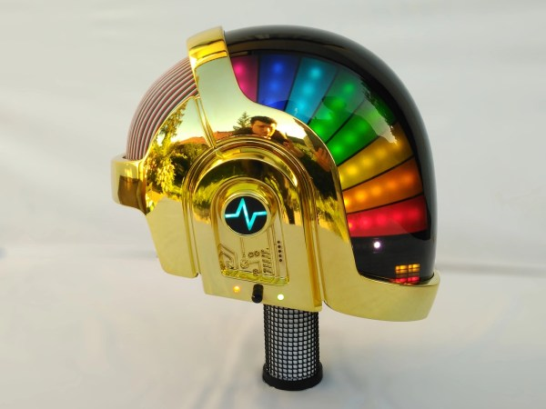 1 - First GM01 Unit My hand-made robotic Daft Punk helmet