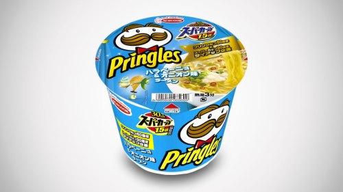 Medium Of Top Ramen Pringles