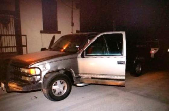 Truck with three men found in suspicious area. (Photo: Laredo Police Department)