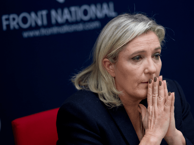 Image result for marine le pen sad face