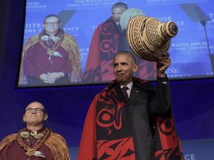 Barack Obama, Brian Cladoosby