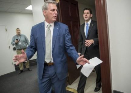 Kevin McCarthy, Paul Ryan