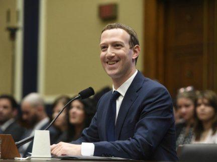 Mark Zuckerberg smiling