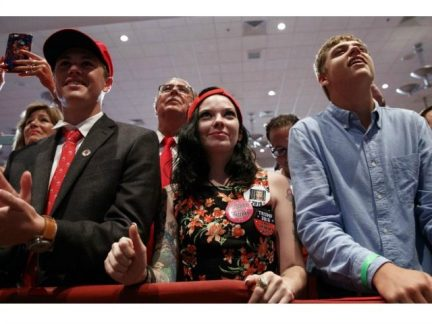 Young White American Voters