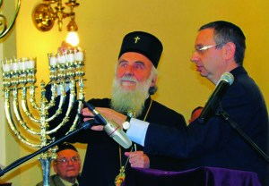 jevreji i Patrijarh Irinej